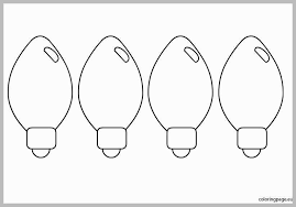 christmas light bulb pattern.  Christmas Christmas Light Bulb Template 2018  Business Idea With Within  13855 Pattern