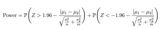 Statistical Power Formula Power Minimal Detectable Effect And Bucket Size Estimation