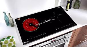 Bếp từ kết hợp hồng ngoại Binova BI-407-IC nhập khẩu Malaysia bếp điện từ  bếp điện từ đôi âm bếp điện từ đôi bếp điện từ đôi đức bếp điện từ đôi