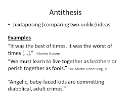 antithesis in letter from birmingham jail rhetorical stylistic devices ppt download