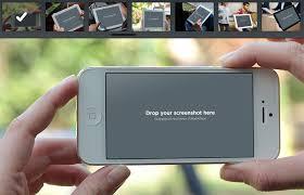 photorealistic mobile screenshots