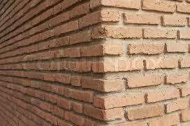 Stock image of 'Brick wall in corner'