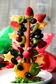 fruit christmas tree. Fine Christmas Fruit Christmas Tree  Beautiful And Festive Made With Fresh  Fruit Intended