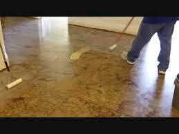 to sn concrete floors
