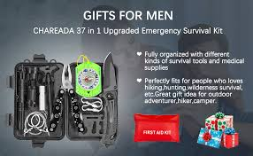 Emergency Survival Kit 37 in 1, Survival Gear Tool Kit ... - Amazon.com