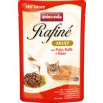 Купить <b>Паучи Animonda Rafine Adult</b> with Turkey, Veal + Cheese с ...