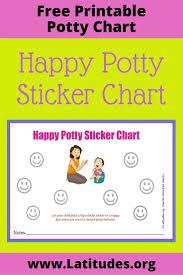 Free Potty Training Sticker Chart Happy Mom Declan