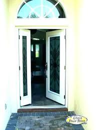 single door with sidelights door sidelight replacement fiberglass front door with one sidelight