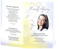 funeral flyer funeral pamphlet template free free funeral program co funeral