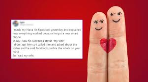 Guy's Tweet About His Grandpa's Facebook Status For His Wife Will Restore  Your Faith in Love This Valentine Week | 👍 LatestLY