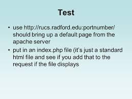 Apache Installation by Jack Davis. Web Servers The Apache HTTP ...