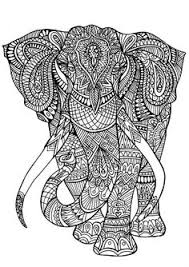 Small Picture Adult Coloring Pages Free African Elephant Realistic Coloring