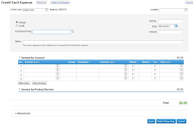 Entering Credit Card Expenses Into Quickbooks Online Organized