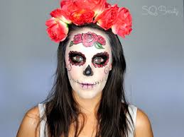 maquillaje catrina mexicana elegante