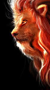 Download Lion, fur, muzzle, art ...