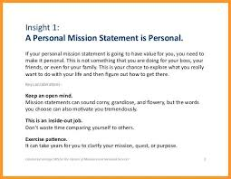 What Is Your Personal Mission 13 Examples Of Personal Mission Statements Payroll Slip
