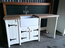 perfect free standing kitchen sink cabinet