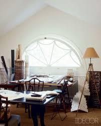 elle decor home office. Architect Gil Schafer\u0027s Attic Studio, Elle Decor Home Office