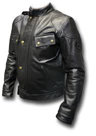 picture of belstaff olivers mount leather jacket