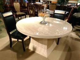 marble dining table set phil round