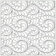 Pin by Nhl By on Çizim... | Pinterest | Quilting designs and Free ... & From Three Sisters Fabric. com: Abundant Feathers Interlocking E2E Adamdwight.com