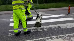sweden thermoplastic road marking project performed by swedish company ekc sverige ab part ii you