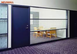 office partition walls with doors. Demountable Office Partition Walls/Glass/Aluminum Framed/Neuwall Walls With Doors