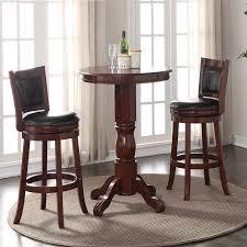 awesome boraam adjule ashton pub table hayneedle regarding pedestal bar table ordinary