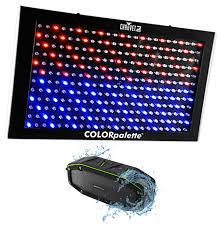 Led Panel Stage Lighting Chauvet Dj Colorpalette Led Panel Dmx Stage Wash Light Color Palette Speaker