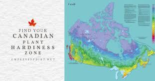 canadian plant hardiness zone