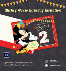 mickey mouse invitation templates sample example micky mouse invitation card template