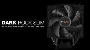 Обзор и тест процессорного <b>кулера be quiet</b>! <b>Dark</b> Rock Slim ...
