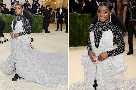 Simone Biles' 2021 Met Gala dress ...