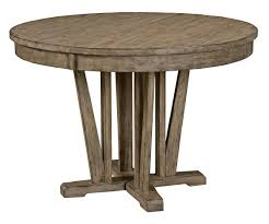 simple diy round farmhouse dining table with extension and hairpin legs for small dining room spaces ideas