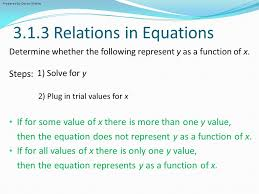 3 1 3 relations in equations