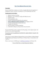 Scanning Clerk Sample Resume Scanning Clerk Resume Examples Templates Sample Mailal Records For 2