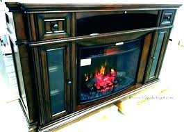 electric fireplace tv stand costco electric