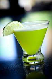 key lime moto absolut vanilla vodka malibu coconut rum midori melon liqueur pineapple juice sweet sour lime juice