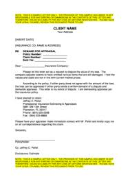 appraisal letter 28 printable sample template for an appeals letter to formally