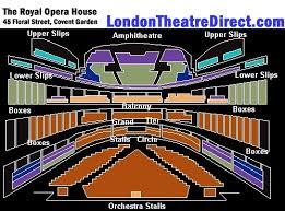 Royal Opera House London Tickets Location Seating Plan