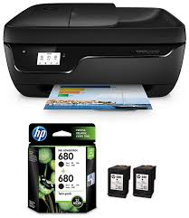 Hp deskjet ink advantage : Hp Deskjet 3835 All In One Ink Advantage Wireless Colour Printer Black With Auto Document Feeder Hp 680 Black Ink Cartridges Twin Pack X4e79aa Amazon In Computers Accessories