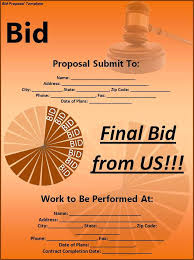 It Business Bid Proposal Template Download Simple Templates Free ...