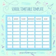 Cute Schedule Maker Hola Braggs Co