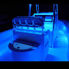 blue boat waterproof led under nel lights 12v flexible cuttable 16ft bright