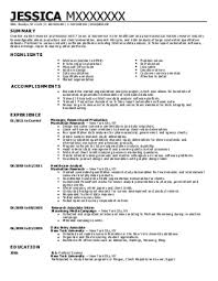 Market research resume and get inspiration to create a good resume 6