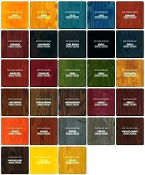 Wood Finish Stain Colors Eventize Co