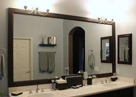 Wonderful Framed Bathroom Mirrors Ideas Diy Bathroom Mirror Frame