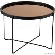 j line ronde salontafel spiegel rond