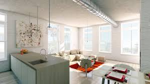 painted brick ideas wood and white apartment interior unique