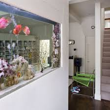 Captivating Fish Tank Room Dividers | Open Plan Spaces | Layout Design | Layout |  Storage